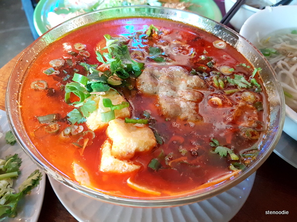 Bun Rieu Cua with Soft Shell Crab