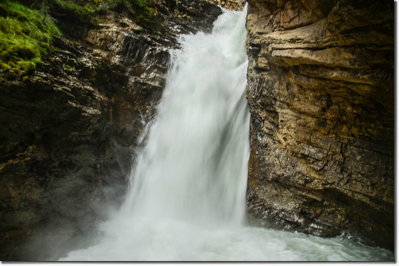 Johnston Canyon Falls (lower) (4)