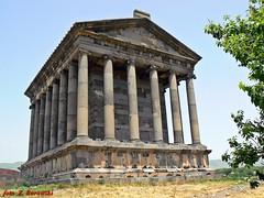 Armenia - Garni, temple of sun god Mithra