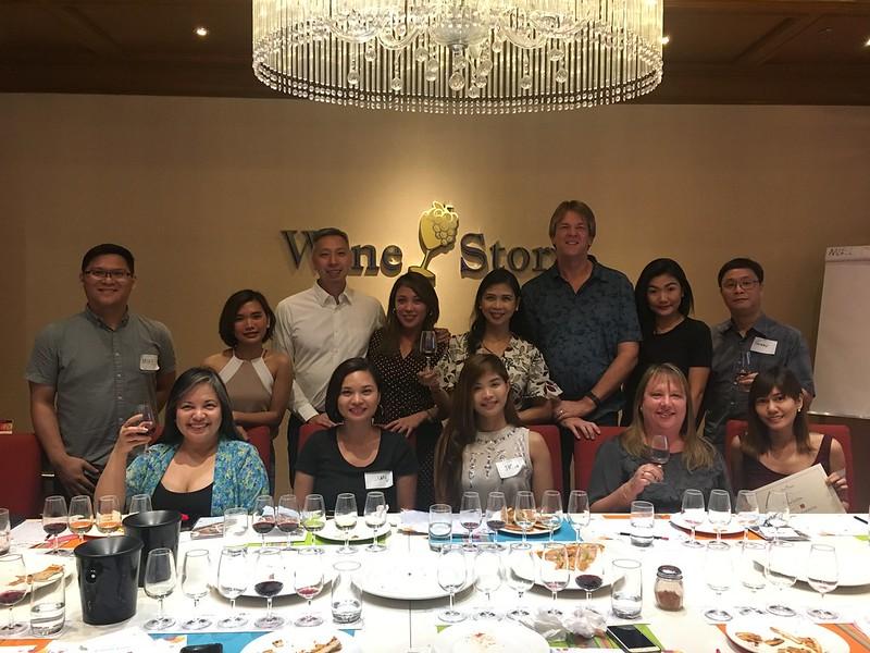 Food and Wine Pairing, Wine Story