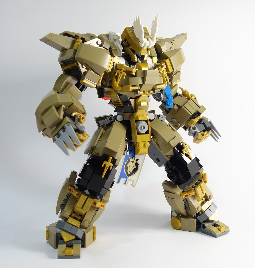 balderich (custom built Lego model)