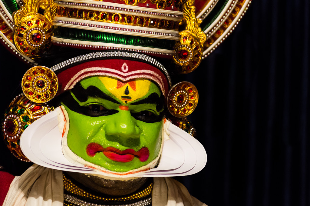 Kathakali is all about expressions
