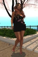 LOTD #14 // Prism Unita Ruffle Dress // Designer Circle Round #3/19 // WoW Skins Esperanza @Kinky_Event