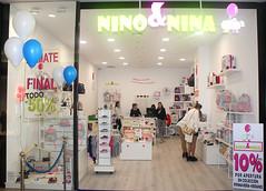 Inauguración de NINO&NINA en el Centro Comercial L'Aljub de Elche