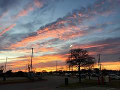 Sunset in Denton, Texas