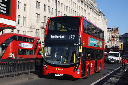 Go-Ahead London EH210 YY67UTK