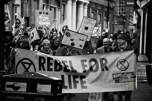 Extinction Rebellion - Rebel for Life