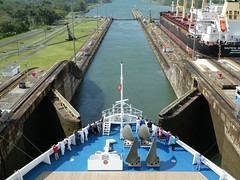 Carnival Miracle in the Panama Canal