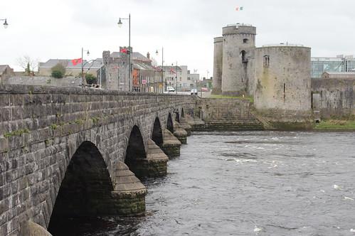 John's Castle, Limerick 2019 Colour