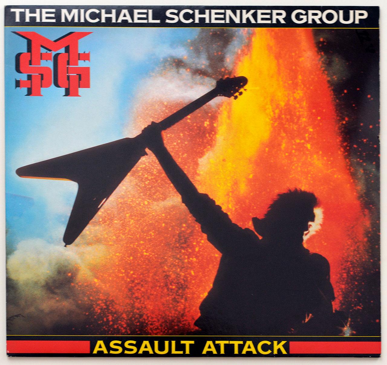 A0742 MICHAEL SCHENKER GROUP Assault Attack