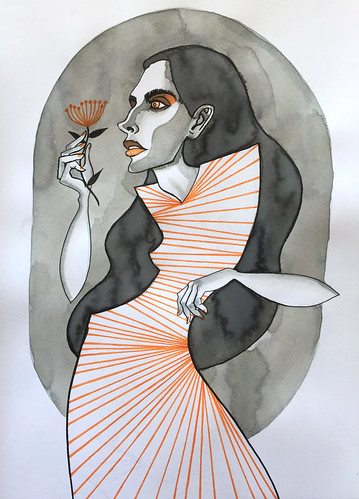 29 - Orange and Grey