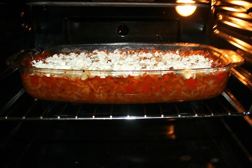 53 - Weiter im Ofen backen / Continue to bake in oven