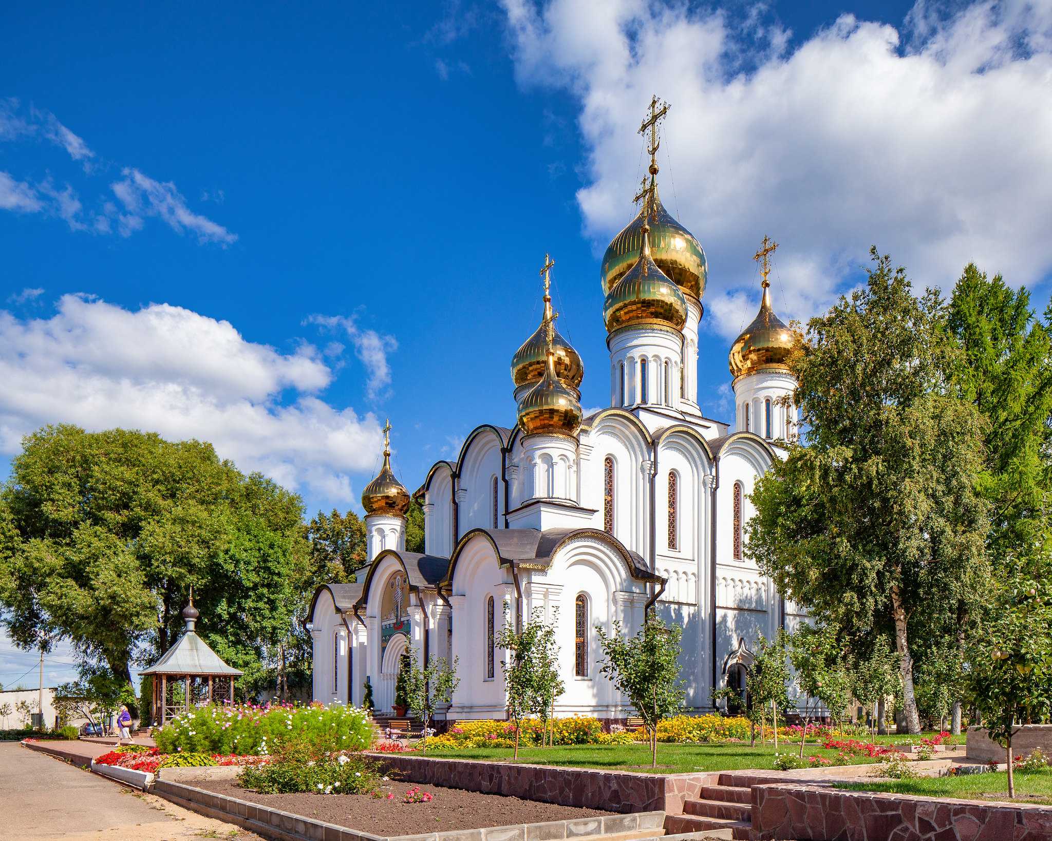 St. Nicholas Cathedral in Nicholas Convent (Pereslavl-Zalessky, Russia)