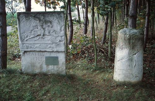 Roman Stele and Milestone