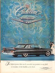 1960 Cadillac Fleetwood Advertisement Life Magazine December 5 1960