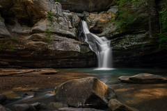 Image by the_lowe_life (jwlowe) and image name Cedar Falls photo  about Cedar Falls located in Hocking Hills State Park.  This was my favorite waterfall in the park.  The nearby Hidden Falls is a close second.