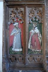 prophet and St Edmund (15th Century)
