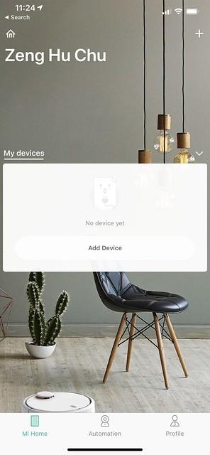 Mi Home iOS App - Home