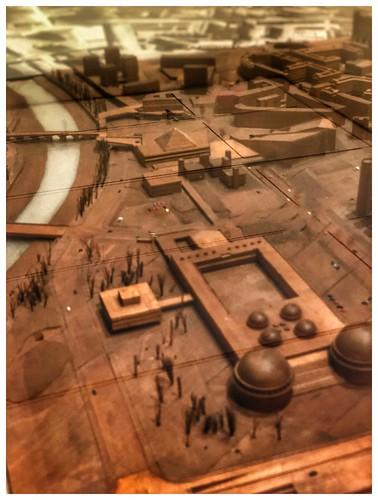 Skopje, master plan (detail) model