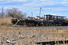 Rossville Boat Graveyard, Staten Island