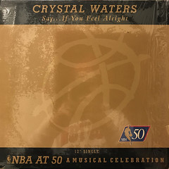 CRYSTAL WATERS:SAY...IF YOU FEEL ALRIGHT(JACKET A)