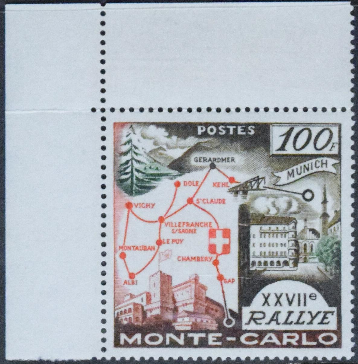 Monaco - Scott #411 (1958)