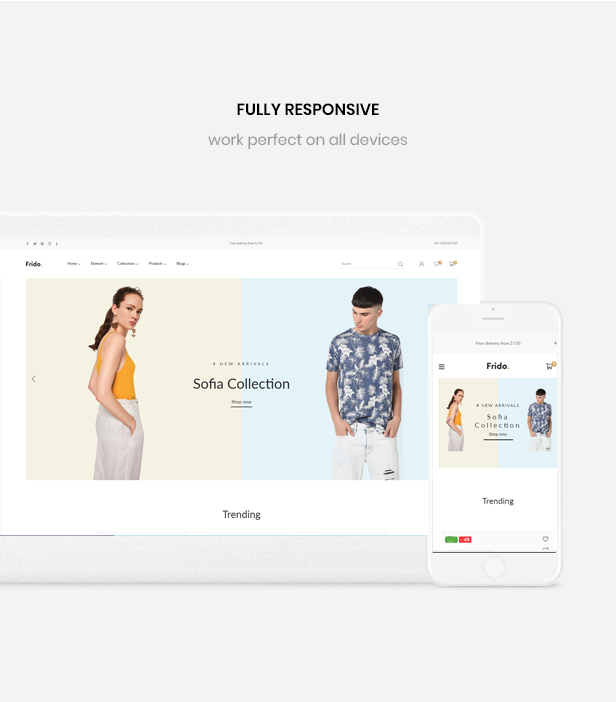 Ap Frido Best Fashion Boutique Shopify Theme - Fully responsive