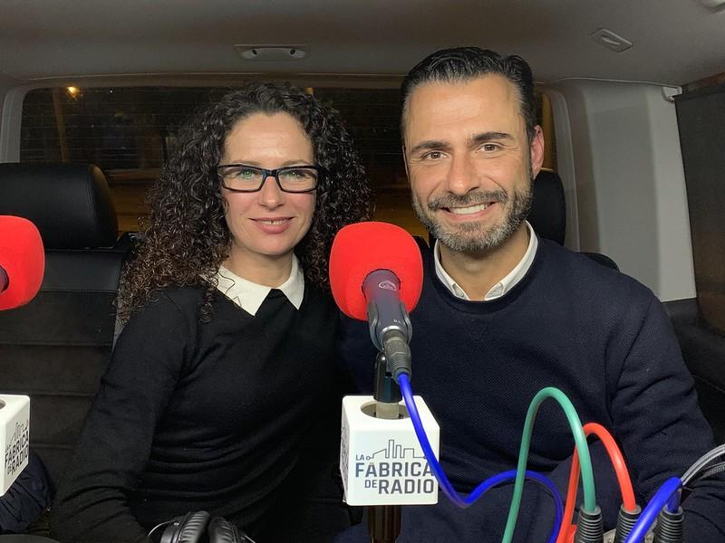 foto Musicoctel Vanessa Perez Rafa Serra Paco Cremades La Fabrica de Radio Tentacion