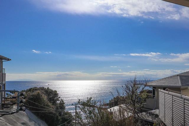 鎌倉の海見え物件