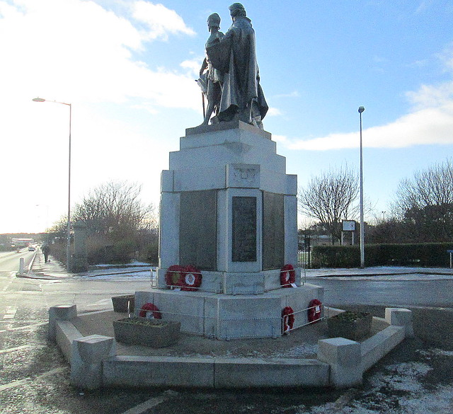 Fraserburgh War Memorial from North
