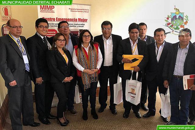 Alcalde de Echarati Coordinó Proyectos Estratégicos con Ministerios en Muni Ejecutivo 2019