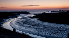 Mouth of Haven into River Humber