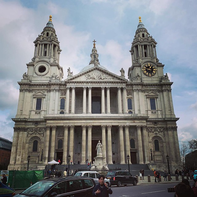 2019 London - Day 5 - St. Paul's Cathedral