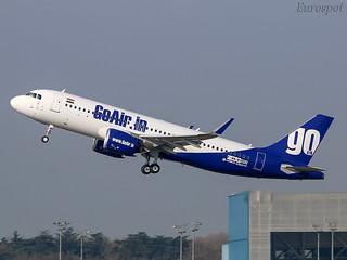 F-WWIM Airbus A320 Go Air
