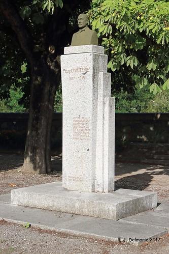 73 ALBERTVILLE - Buste de Félix Chautemps