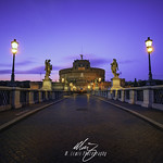 Castel St.Angelo Sunset - https://www.flickr.com/people/94142550@N08/