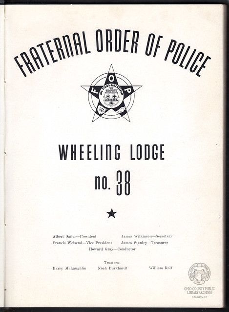 Fraternal Order of Police, Wheeling Lodge No. 38