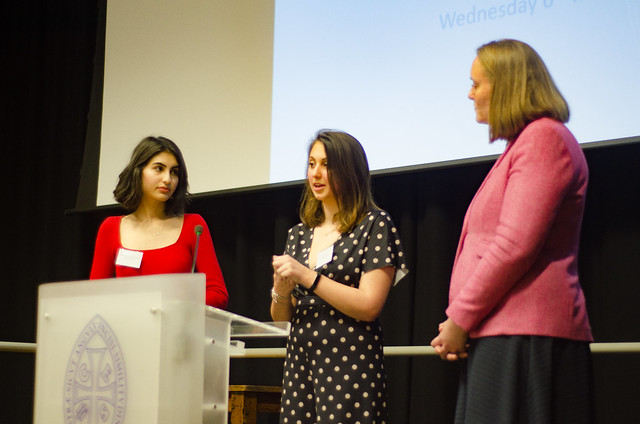 Alumnae speak at Higher Education Evening, March 2019