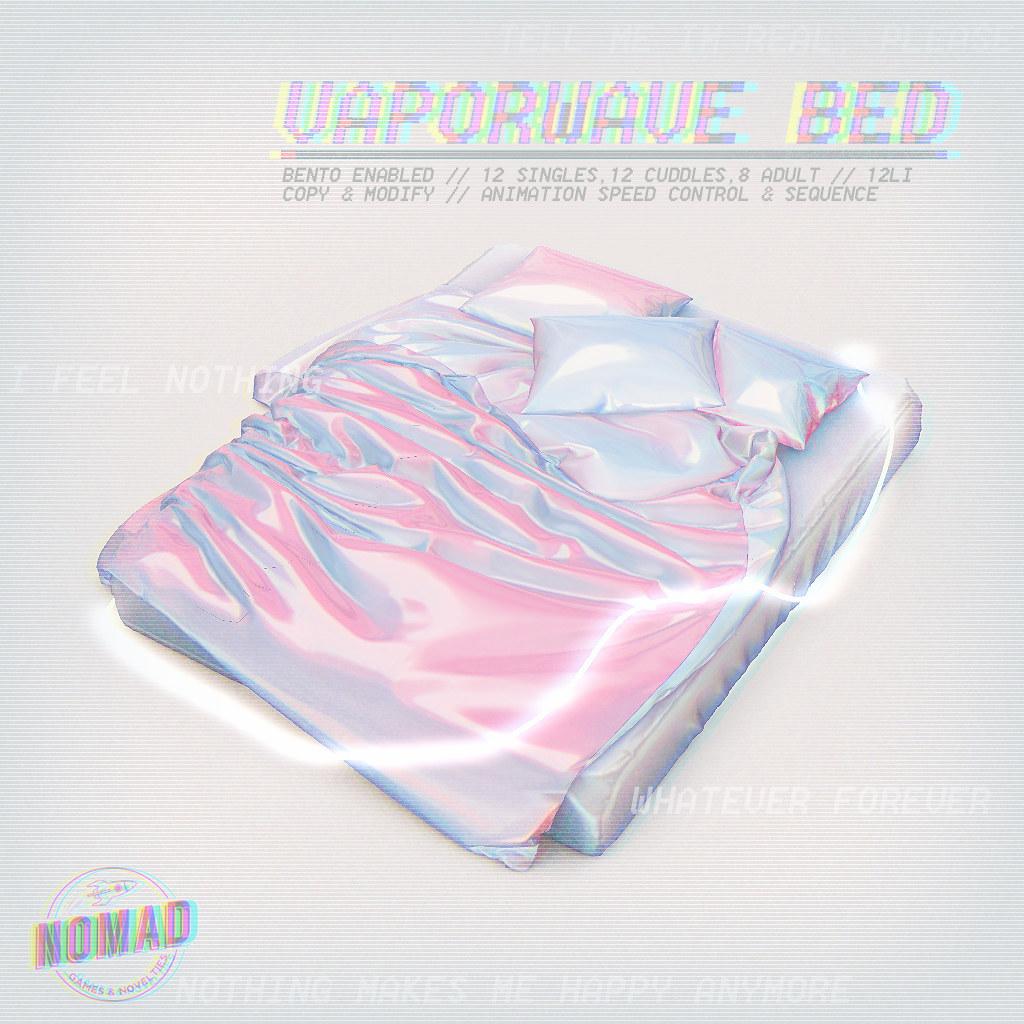 NOMAD // Vaporwave Bed