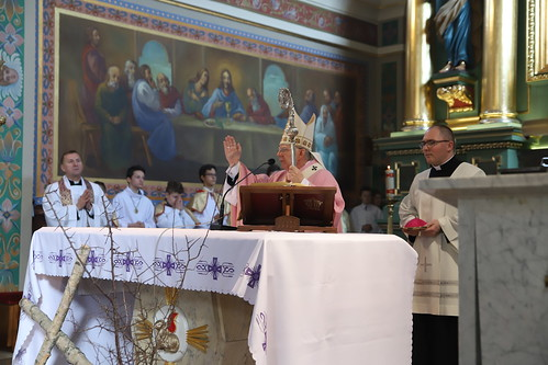 Wizytacja w Parafii w Osielcu | Abp Marrek Jędraszewski, 31.03.2019