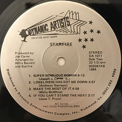 STARFIRE:STARFIRE(LABEL SIDE-B)