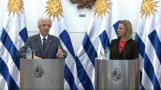 No Uruguai, comunidade internacional discute saída pacífica para crise na Venezuela