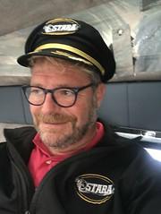 mike halsey wearing ostara uniform