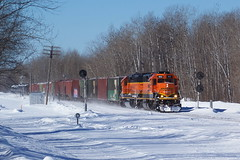 BNSF 1823 East at Brookston
