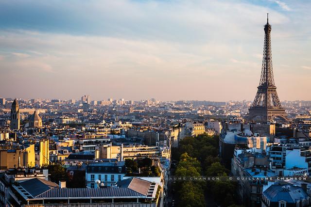 Sunset over Paris II