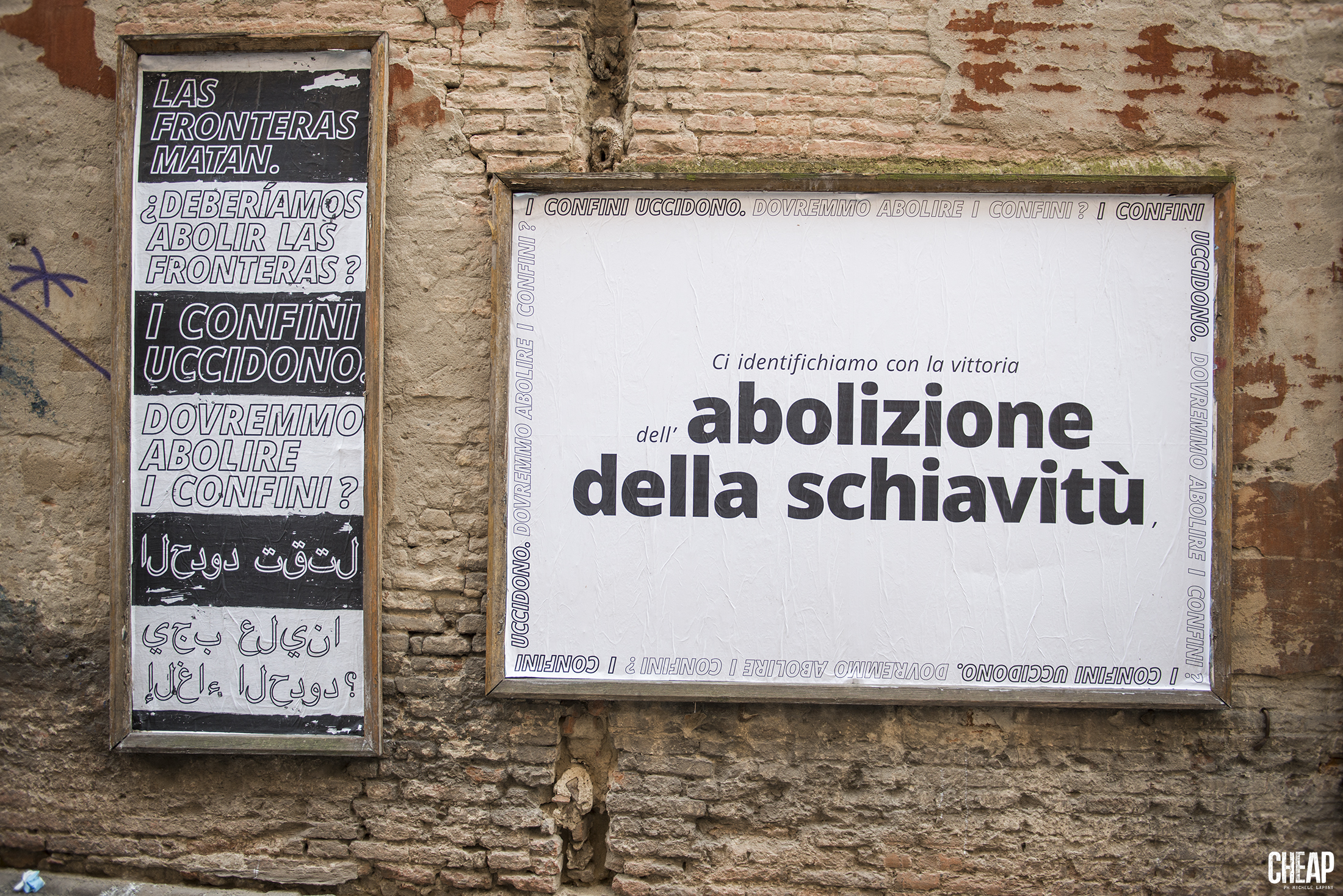 CHEAP X Tania Bruguera | Referendum | Atlas of Transitions HOME | Via dell'Abbadia