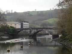 Totnes bridge from the west bank
