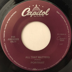 PORTRAIT:ALL THAT MATTERS(LABEL SIDE-A)