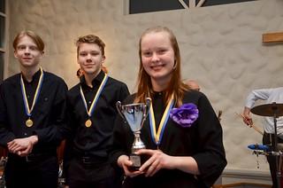 Evelina Glänneskog - vinnare av grupp 3