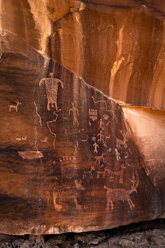 Bear Petroglyph Panel